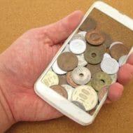 プリペイド携帯とお金の待ち受け画像